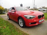 BMW 1 SERIES 120d SE 5dr (red) 2012