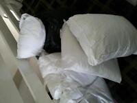 pillows used very little good condition