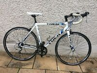 TREK Aluminium Road Bike 42cm 31.8dia Shimano Tiara Group Set TALLER RIDER