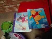 Harry Potter & Winnie the Pooh folder