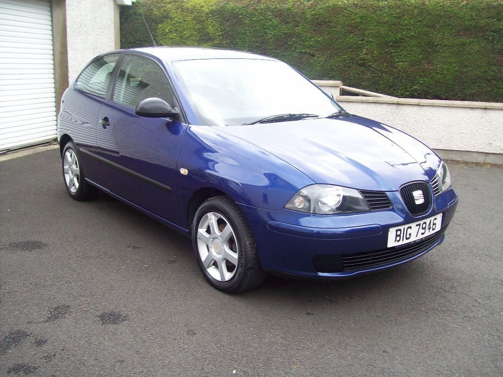 2006 seat ibiza 1 4 tdi reference 3 dr hatchback in blue only 97k miles only o n o. Black Bedroom Furniture Sets. Home Design Ideas
