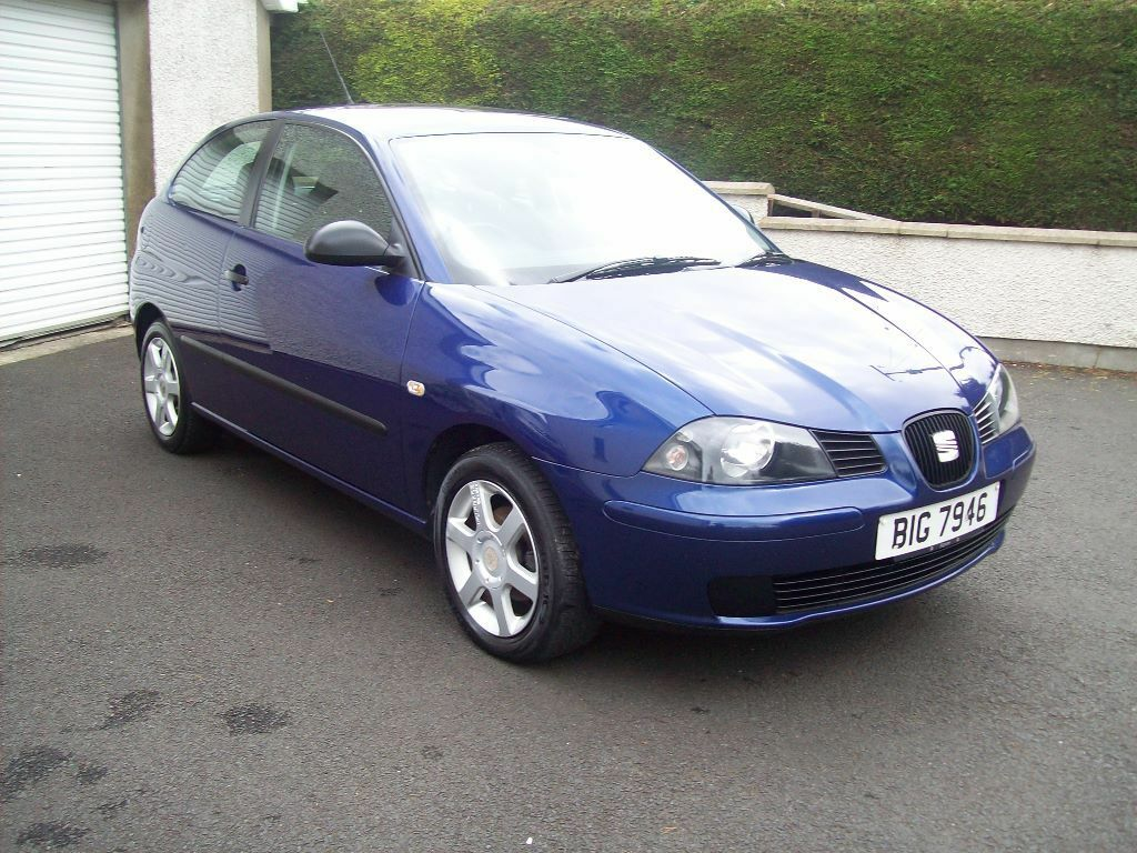 2006 seat ibiza 1 4 tdi reference 3 dr hatchback in blue. Black Bedroom Furniture Sets. Home Design Ideas
