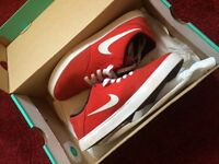 Size 5.5 Red Nike sb's, brand new, only worn once