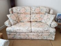 Marks & Spencer's Sofa bed metal frame, excellent condition, washable linen covers. Pick up only.