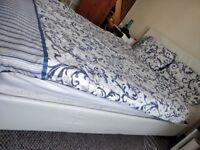Double bed frame + free mattress