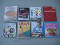 Eight Brand New Cook Books: £3.00 EACH - Please see titles in advert description