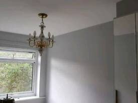 Painter and decorator, wallpaper