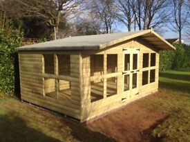 16 x 8 summerhouse loglap