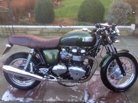 2014 Triumph Thruxton 900 - 4600 Miles, One Owner, Full History