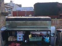 6ft fish tank