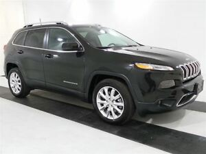 2016 Jeep Cherokee Limited *V6/LEATHER*