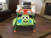 Green Turtle Toddler Trampoline