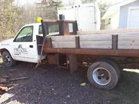 chev one ton with dump box