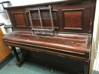 FREE UPRIGHT PIANO WITH MANUSCRIPT STAND (Collection only by 14th December, 5pm)