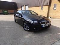 BMW 5 Series 520d M Sport (black) 2016