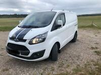 Transit custom 2015 sporty van 70k FSH 6 speed NO VAT may px/swap for car 4x4 or cheaper van