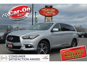 2018 Infiniti QX60 AWD LEATHER NAV SUNROOF REAR CAM HTD SEATS LO
