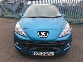 For sale 2012 Peugeot 207 low mileage 5 door