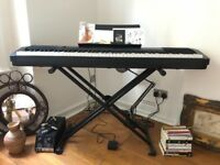 Casio CDP 130 + sus pedal + stand