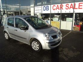 DIESEL !!! 2007 07 RENAULT MODUS 1.5 EXPRESSION DCI 5D 86 BHP ** GUARANTEED FINANCE **