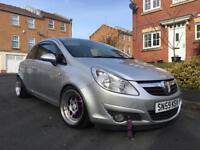 2009 Vauxhall Corsa Design 1.3 Cdti £30 Road Tax Drives Great Lowered-Alloys