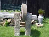 MILL STONE NICE GARDEN ORNAMENT