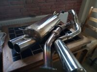 Golf MK4 A3 Leon 1.8t full stainless exhaust