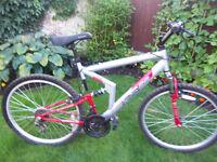 Apollo fs26 full suspension mountain bike adult