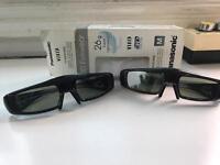 Panasonic 3D glasses new condition glassesbox a bit bent up