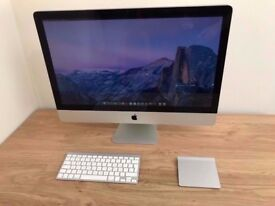 Late 2009 27 Apple iMac i5 2.66ghz 8GB RAM 1TB HDD Radeon 512MB GPU RRP £1499