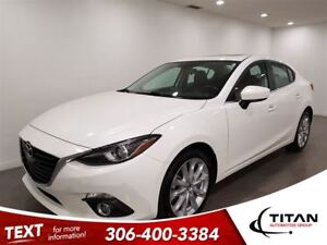 2015 Mazda MAZDA3 GT|Auto|Sunroof|Nav|Back up Cam