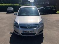 Vauxhall Zafira 1.9 CDTi 58 Reg 72K Miles!