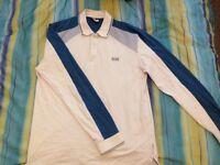 Long Sleeved Hugo Boss Polo