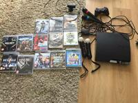 PS3 13 games , motion control , camera ,microphones .