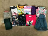 Girls clothes bundle age 4-6