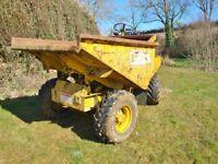 Dumper 4x4 D25 DIESEL 3 TON BRIDPORT DORSET