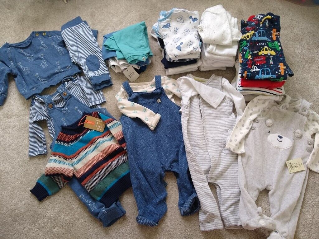 04021f64da43 Boys 3-6 months clothes bundle (some new with tags)
