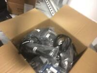 Power cables x18 brand new packed