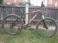 "Boardman Comp 27.5 mountain bike, 19"" frame....Nearly new"