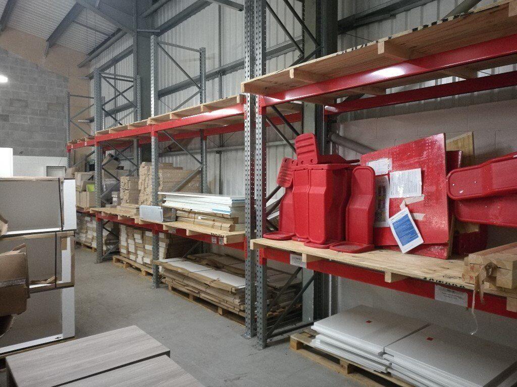 Industrial storage racking