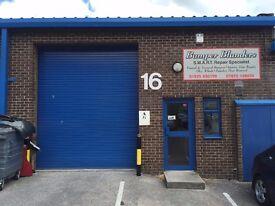 1,356 Sq Ft Industrial Unit, Office, Workshop, Storage Unit, Warehouse