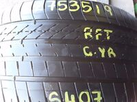 Part worn tyres / 275/35/19 / Goodyear/ runflat/ TouchStoneTyresLondon Barking