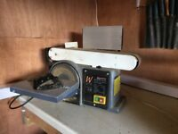 Axminster belt and disc sander with user manual