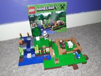 Lego minecraft The Farm set - fully built for seller to see