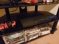 250g ps3 slim with 25 games 2controllers open to offer