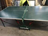 Kettles table tennis table