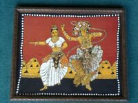 Asian embroidery picture