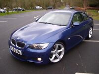 BMW 335D M-SPORT COUPE * TWIN TURBO * 285 BHP * PADDLE SHIFT * M3 M5 R32 GTI RS RANGE ROVER