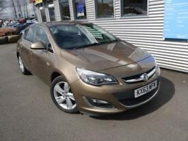 VAUXHALL ASTRA 1.6 SRI 5d AUTO 115 BHP **1 YEAR MOT + AA RECOVERY** (brown) 2013