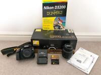 Nikon D3200 DSLR Camera & Lens